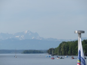 Starnberger See, Alps in the background