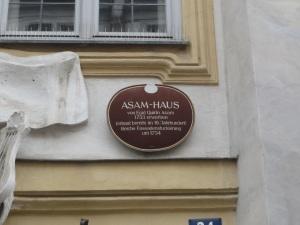 Asam's house in Sendlinger Tor Strasse