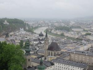 Salzburg in the rain