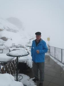 Fred at summit of Unterbergen