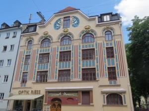 Jugendstil architecture in Aimillerstrasse
