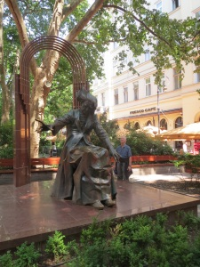 Liszt Ferenc (Franz Liszt) statue in Liszt Ferenc Ter