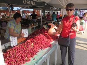Cherries for $1/kg