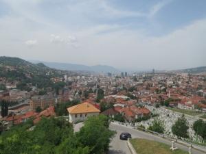 Sarajevo from Yellow Fort