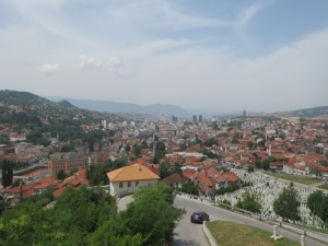 Sarajevo from Yellow Fort