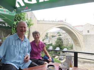 Ottoman bridge in Mostar