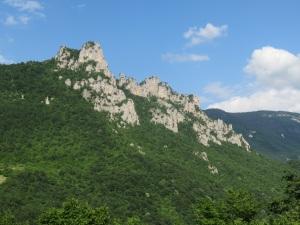 Montenegro border mountains
