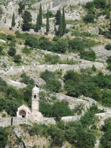 Old town city walls, Kotor