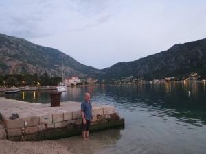 Evening lights in Kotor