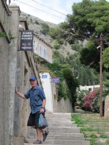 Entrance to Villa Enni