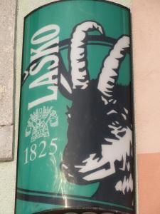 Zlatarog immortalised in Lasko beer