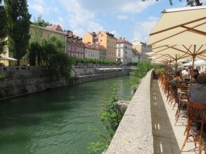 Ljubljanska river