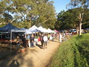 Friday Farmer's Market in Mullum
