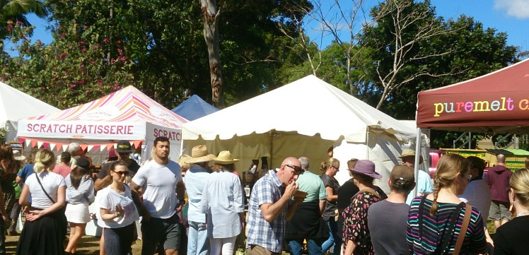 Bangalow, Sample Tasting
