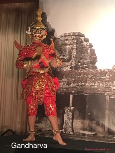 Gandharva dancer, Siem Diep