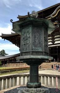 Bronze lantern outside Daibutsu-den