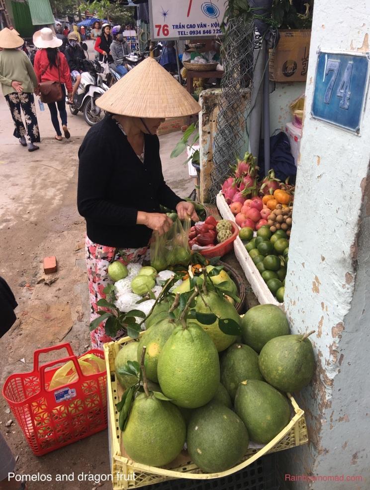 pomelo in Viet Nam