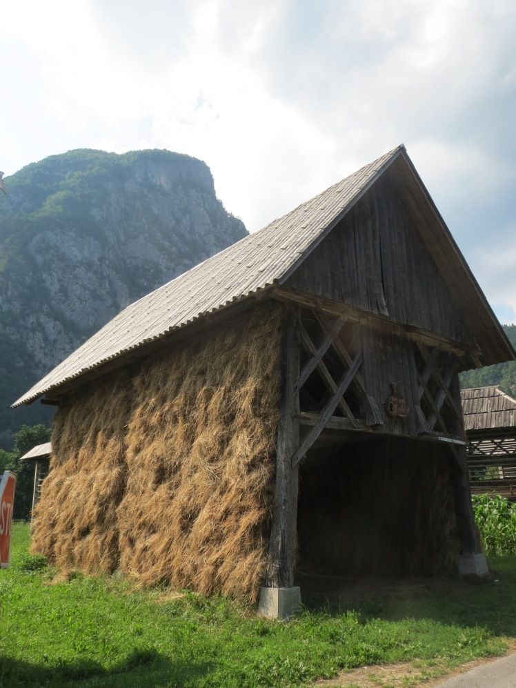 Straw drying house, Lake Bohinj