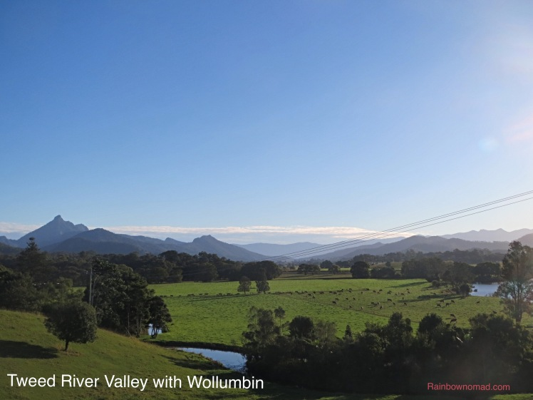 Tweed River Valley with Wollumbin