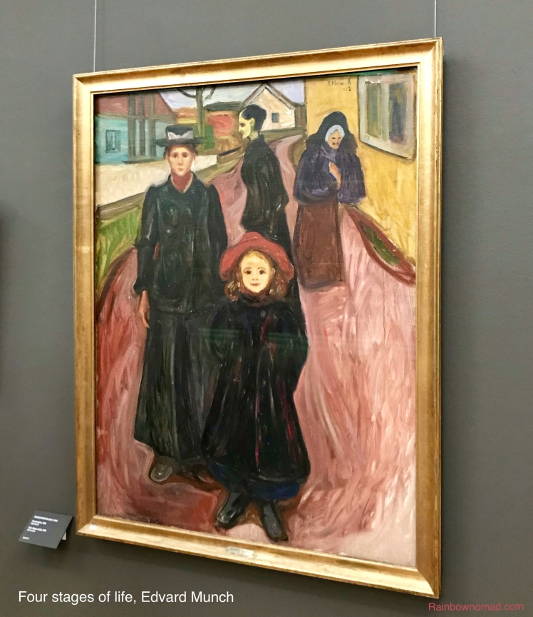 Four stages of life, Edvard Munch KODE 3