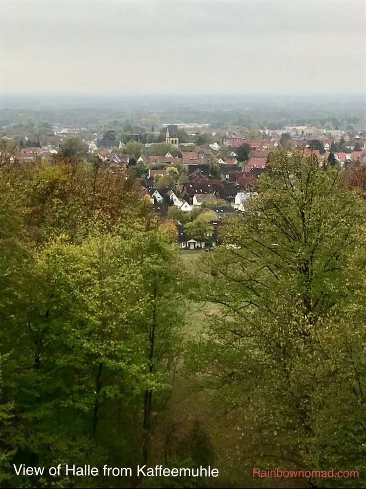 View of Halle from Kaffeemuehle