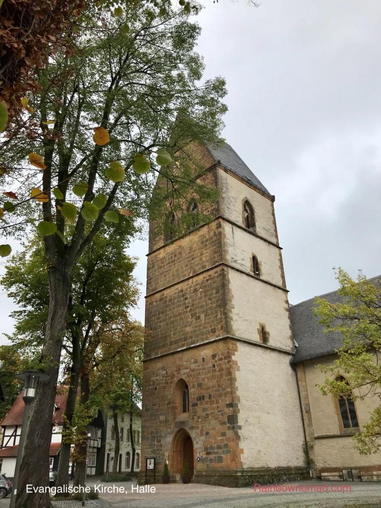 Evangalische Church, Halle