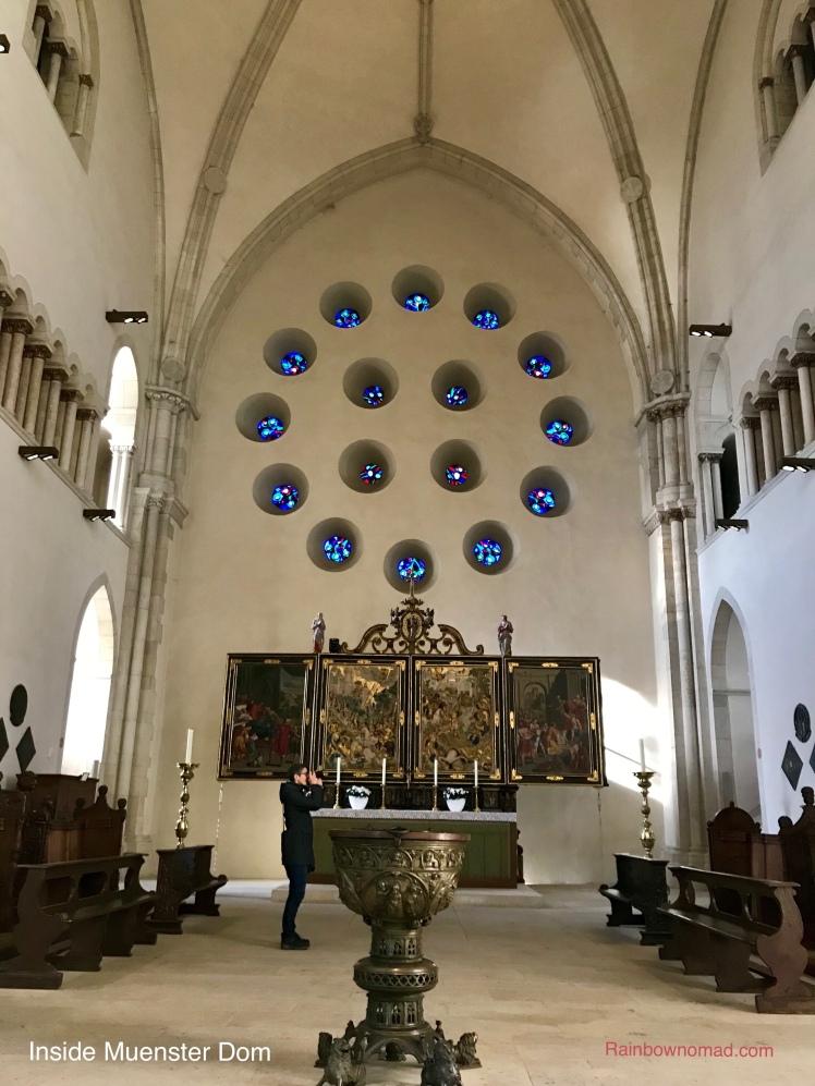 Inside Muenster Dom