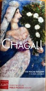 Marc Chagall exhibition Picasso Kunst Musée Muenster