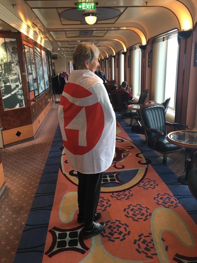 Hurtigruten flag winner