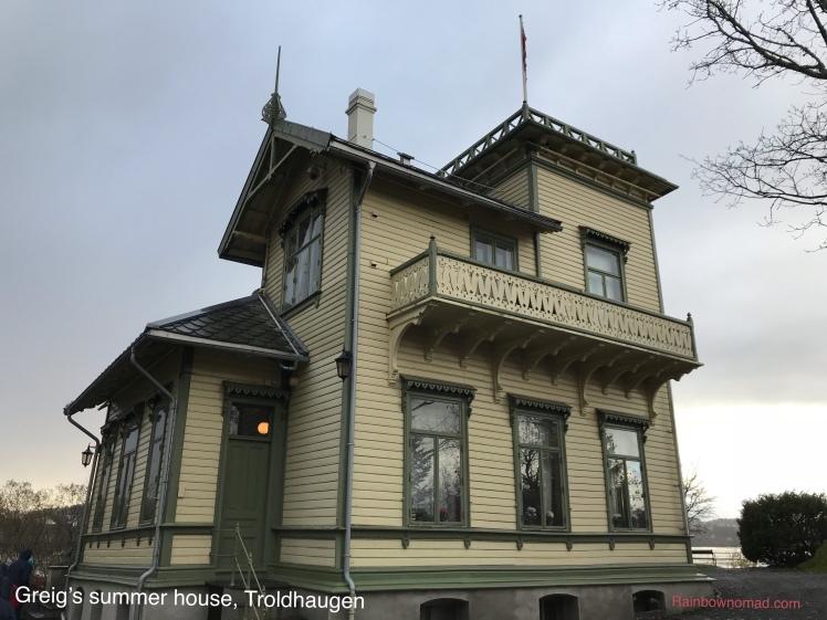 Greig's summer house, Troldhaugen