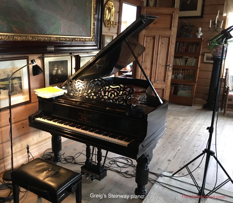 Greig's Steinway piano