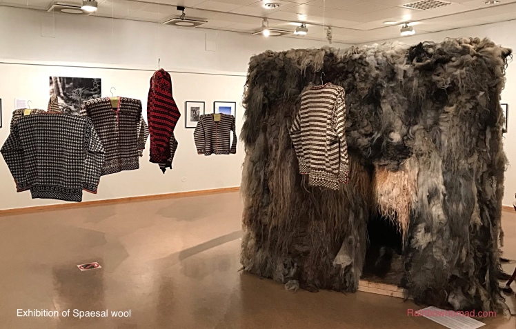 Exhibition of Spaesal wool