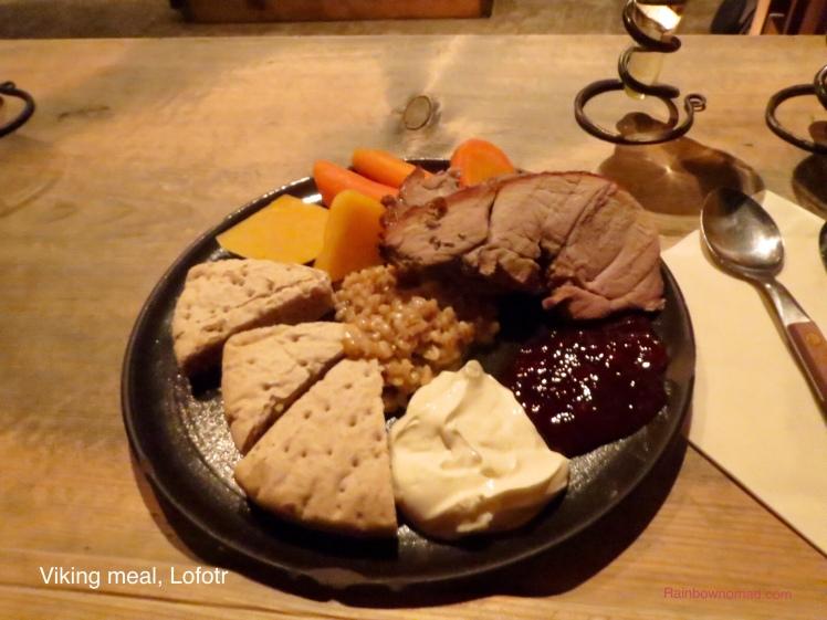 Viking meal, Lofotr