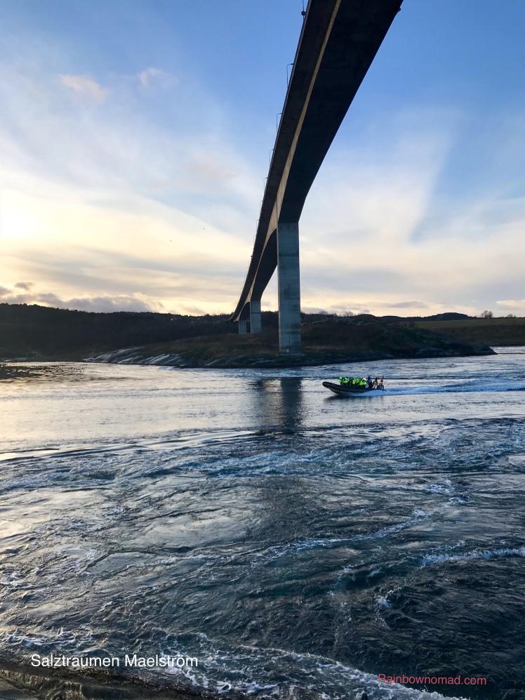 Rib boat on Salztraumen