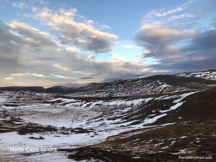 Tundra landscape, North Cape