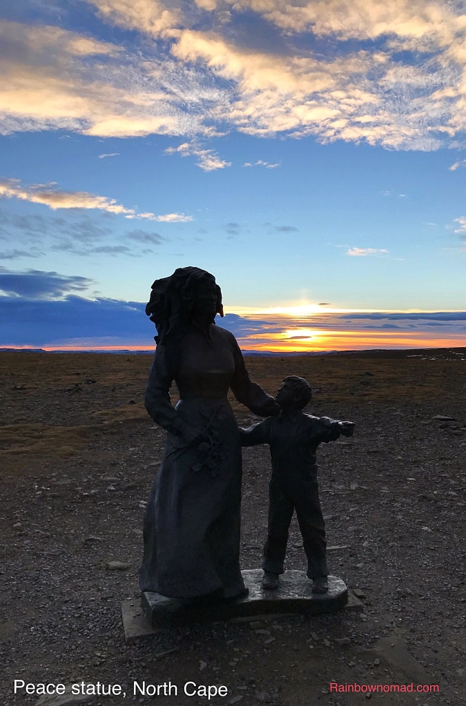 Mother and Child, North Cape