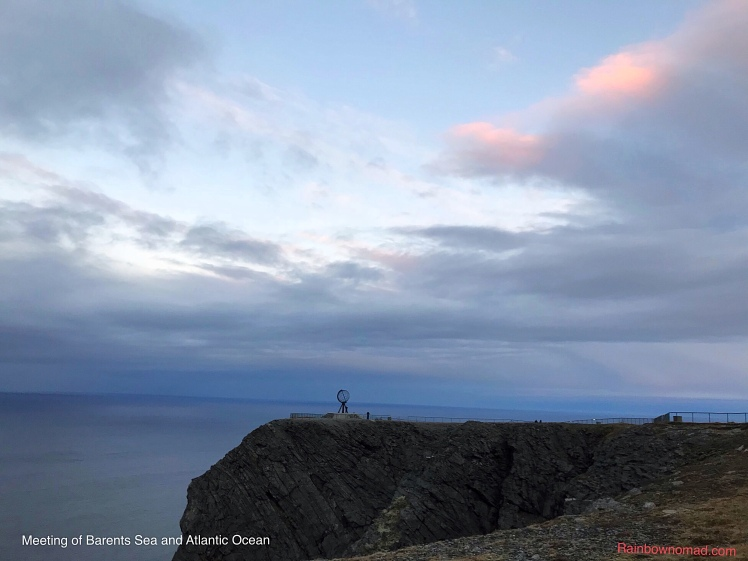 Meeting of Barents Sea and Atlantic Ocean