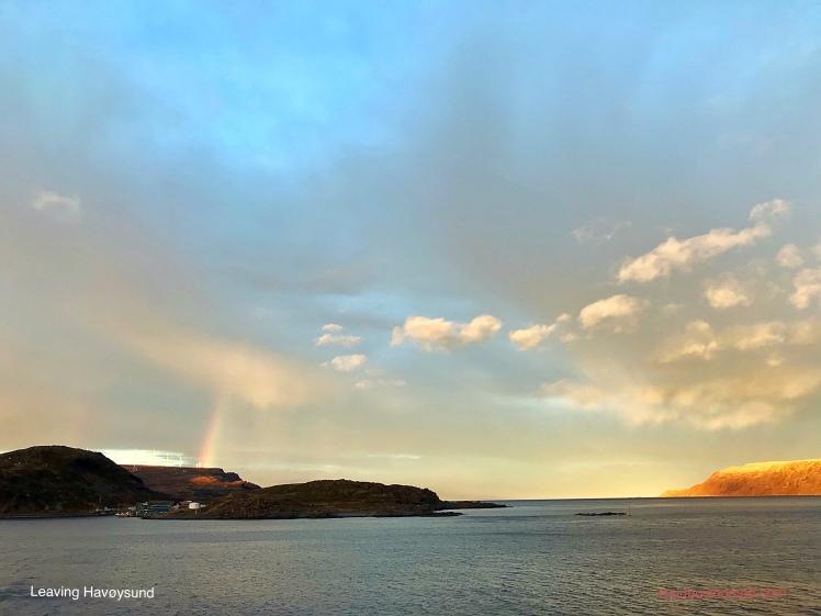 Leaving Havøysund