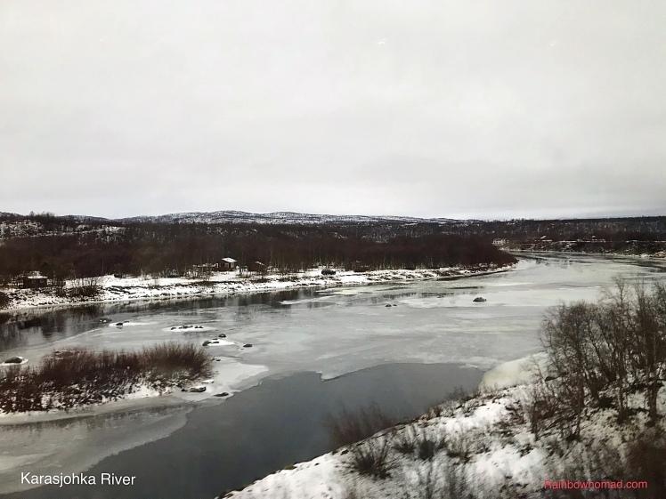 Karasjohka River