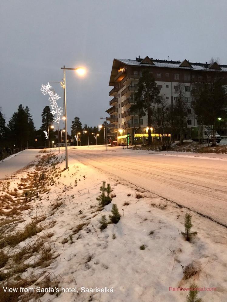 View from Santa's Hotel, Saariselka