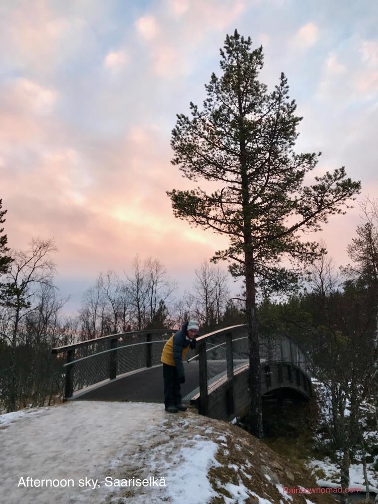 Afternoon walk, Saariselkä