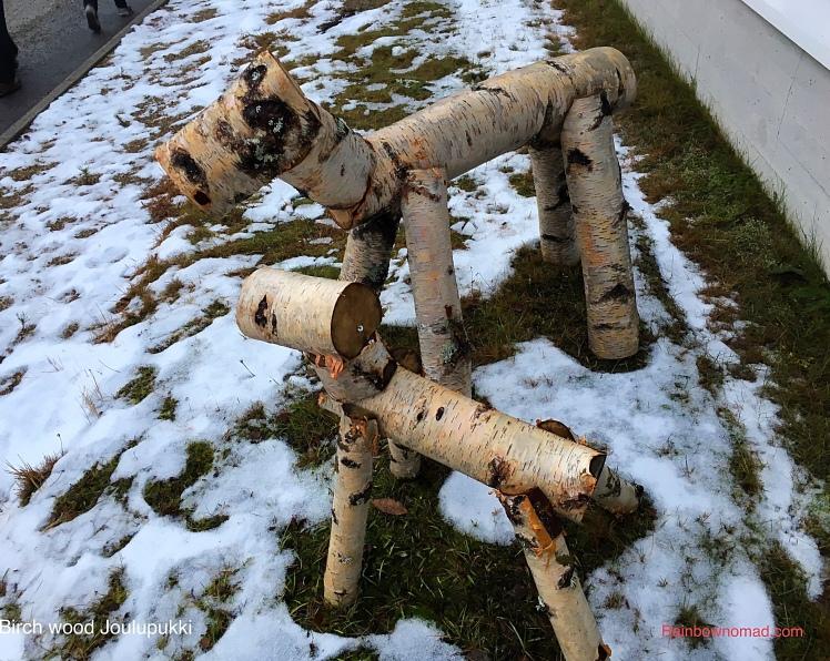 Birch wood Joulupukki