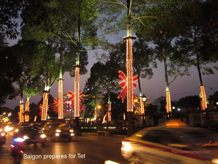 Saigon prepares for Tet, Lunar New Year