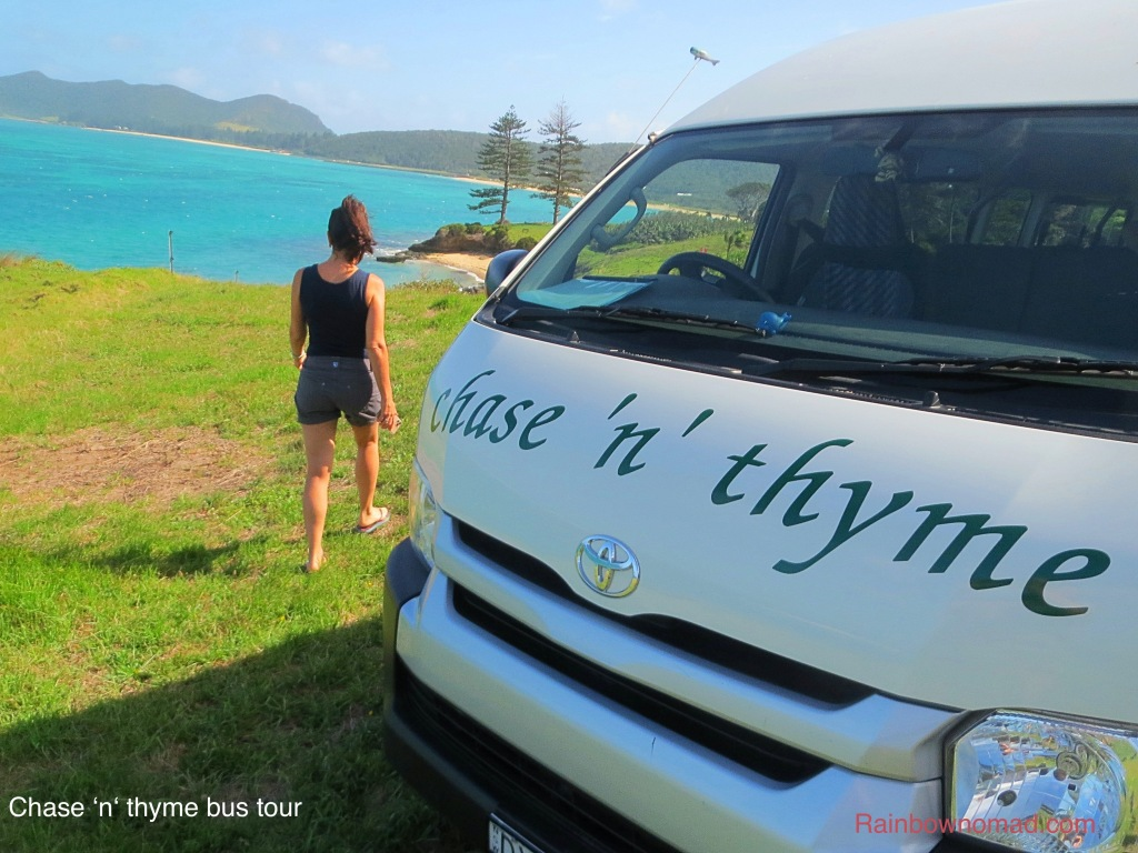 Chase 'n'Thyme bus tours