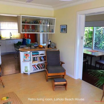 Retro Living Room, Loholo Beach House
