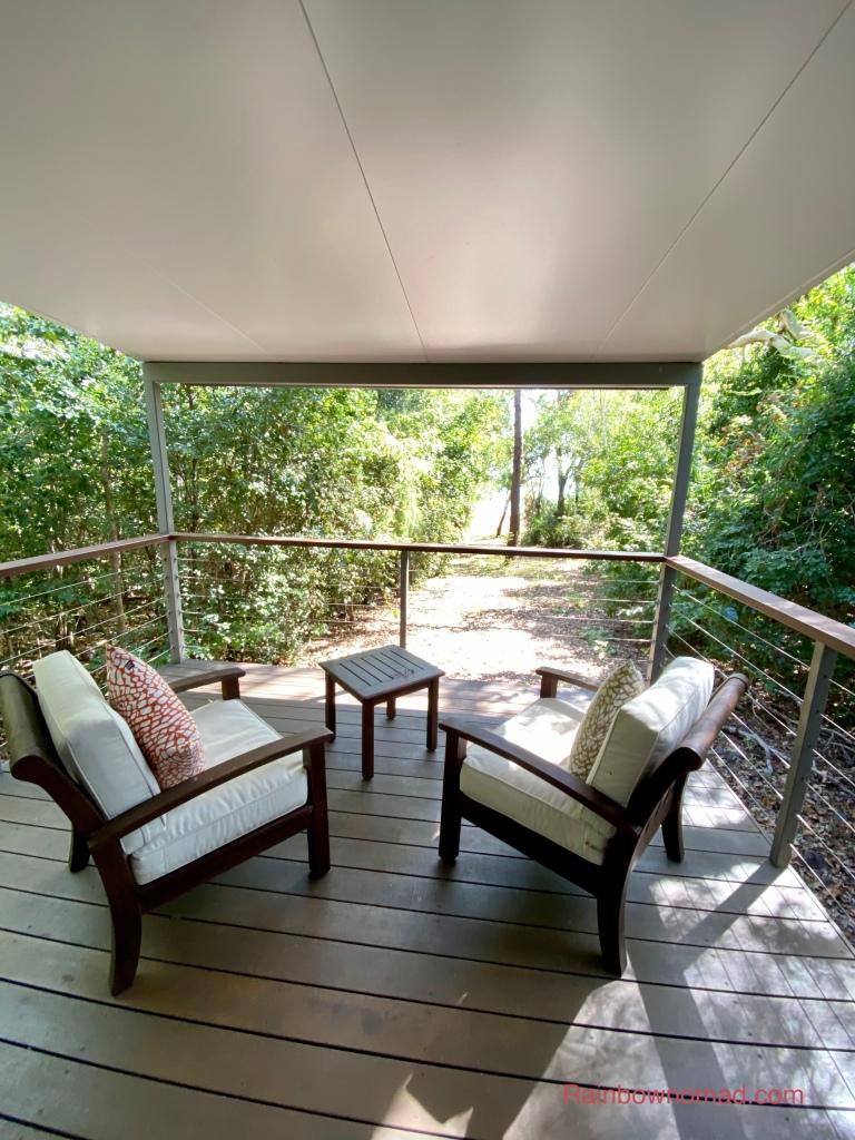 Balcony Seven Spiriti Bay Lodge